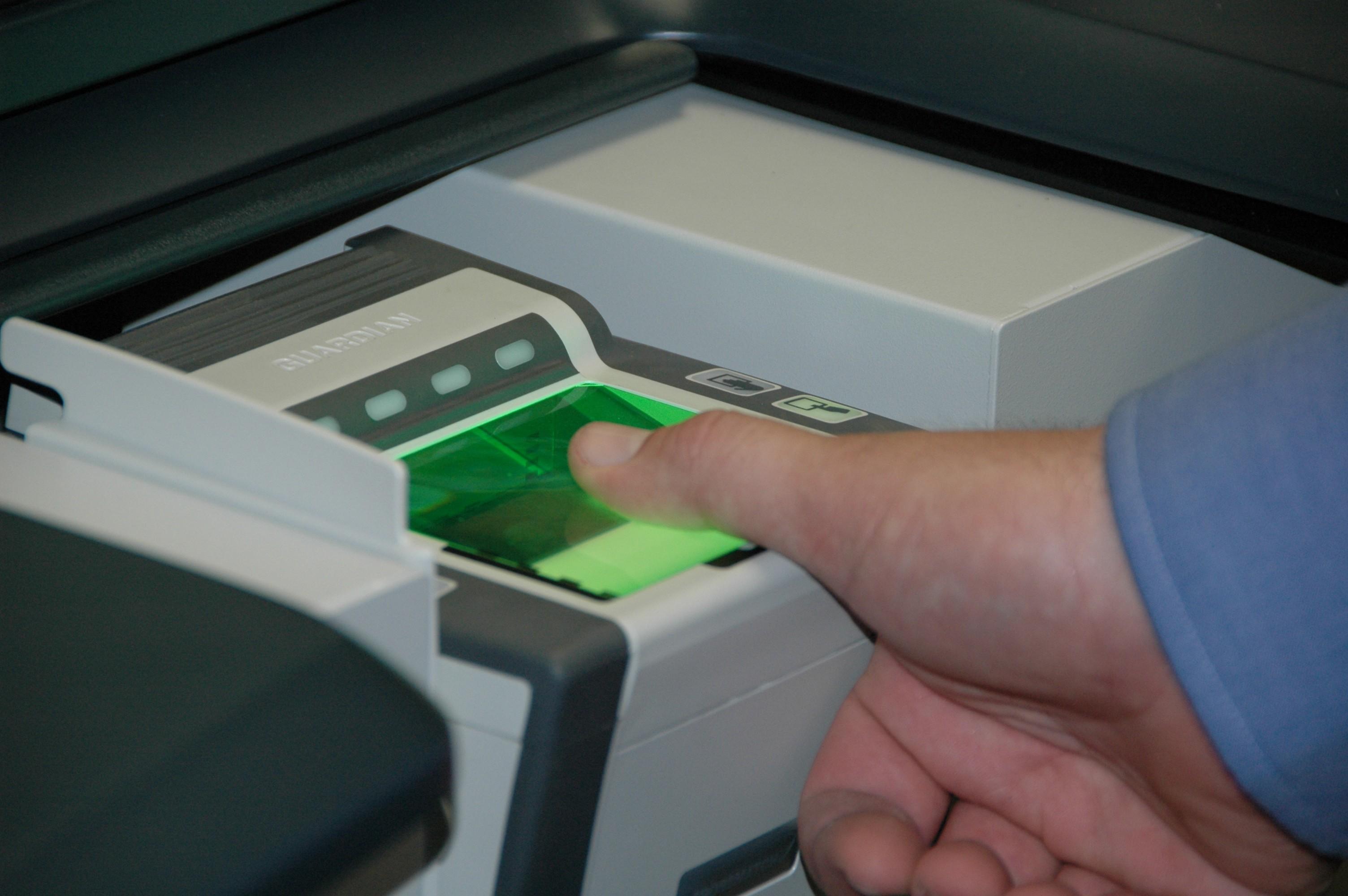 finger print scanner